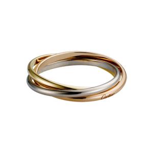 Cartier窄版三環戒