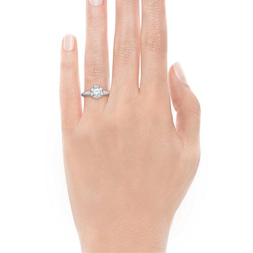 Tiffany六爪鑽戒