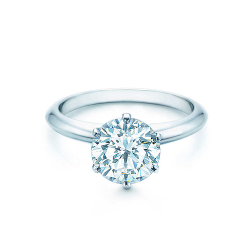 Tiffany經典六爪鑽戒
