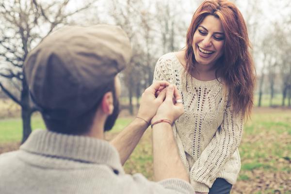 挑選求婚戒