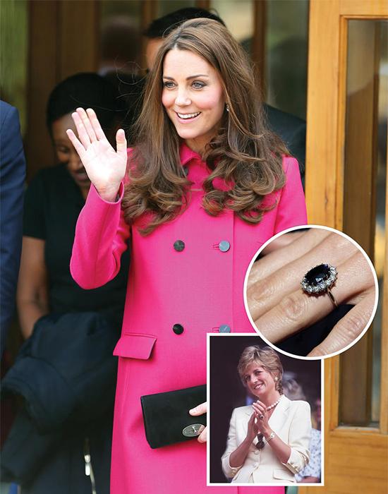 英國凱特王妃訂婚戒指