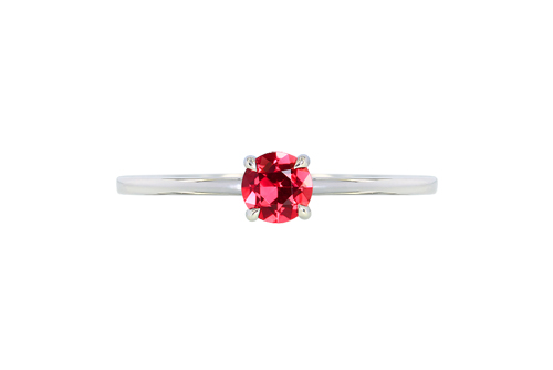 IVY New York紅色尖晶石戒指